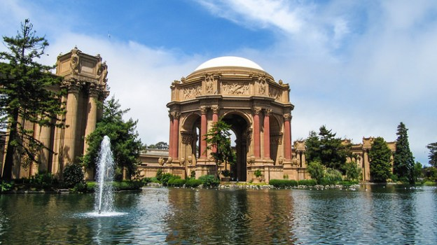 Palace of the Fine Arts - Real Life