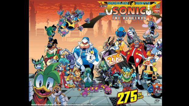 Archie Comics' Sonic Catalog