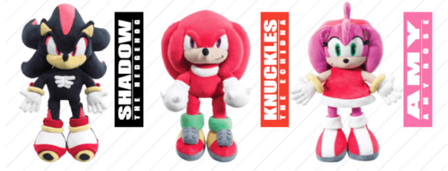 Sonic and Friends Plushes
