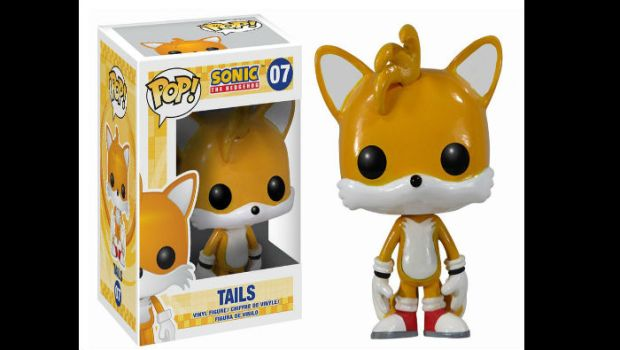 Funko POP Figures of Sonic and Friends