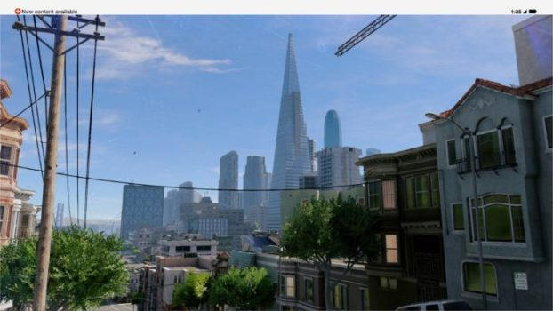Skyline & Transamerica Pyramid - Watch Dogs 2