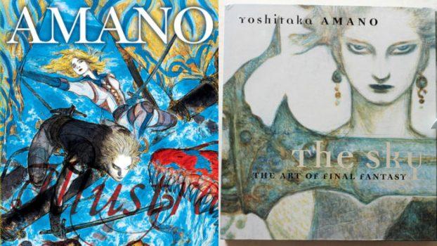 Yoshitaka Amano Artbooks