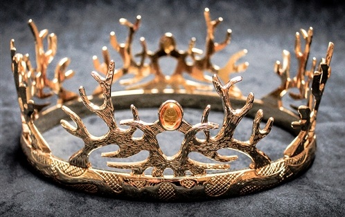 The Royal Crown of the Houses Baratheon and Lannister Official Replica