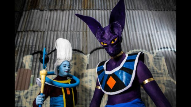 Beerus and Vados - Dragon Ball Super