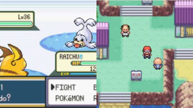 5. Pokemon FireRed and LeafGreen (2004) - Game Boy Advance