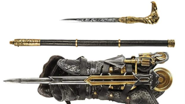 Hidden Blade and Cane Sword