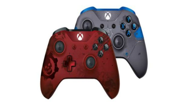 Gears of War 4 Limited Edition Xbox One Controllers
