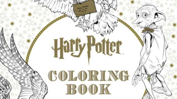 Harry Potter Coloring Books for Adults
