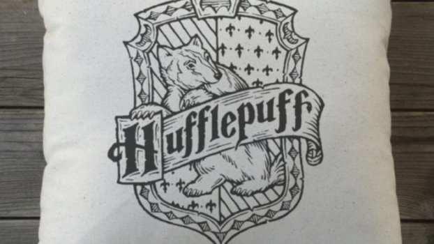 Hogwarts House Pillows