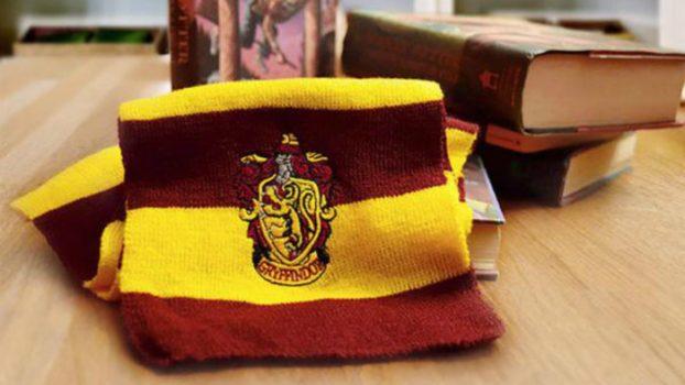 Hogwarts House Tie