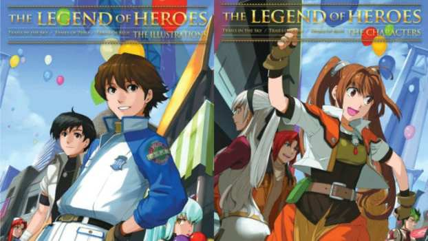 The Legend of Heroes Art Books