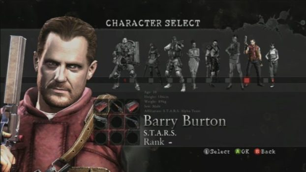 Barry Burton - Resident Evil Series
