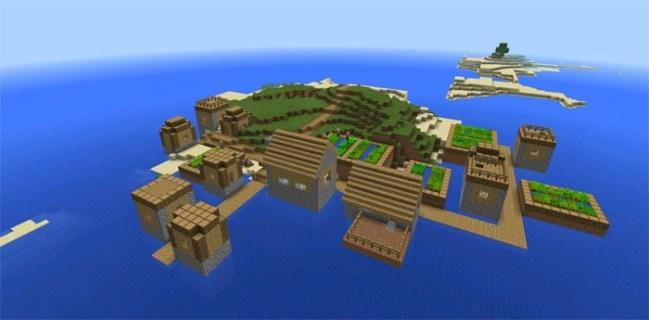 Top 10 Best Island Seeds for Minecraft PE