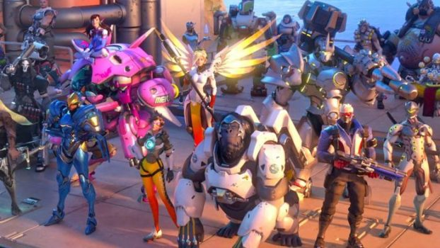 The Entire Cast of Overwatch
