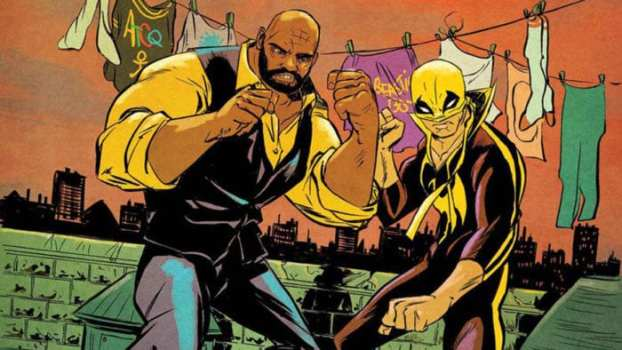 Power Man and Iron Fist: The Boys are Back in Town (Writer: David Walker/Artist: Sanford Greene & Flavino/Colorist: Lee Loughridge and John Rauch)