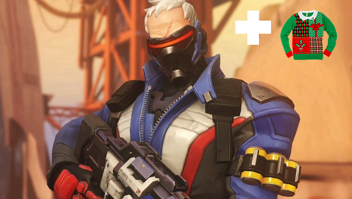 soldier 76, christmas, overwatch, event, skin