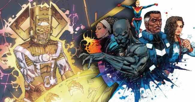 The Ultimates: Start With the Impossible (Writer: Al Ewing/Artist: Kenneth Rocafort & Christian Ward/Colorist: Dan Brown)