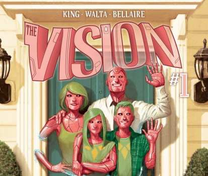 The Vision: Little Worse Than a Man (Writer: Tom King/Art: Gabriel Walta/Colorist: Jodie Bellaire