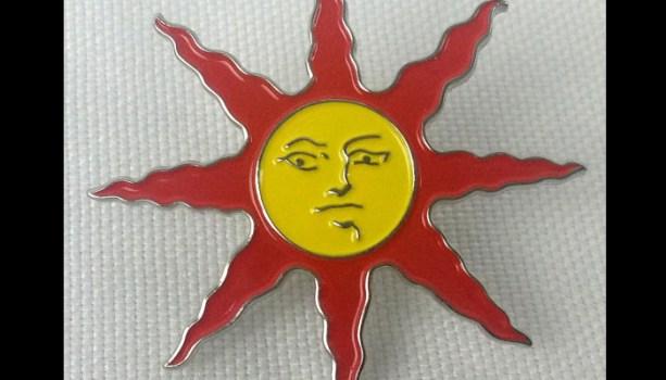 Warrior of Sunlight Pin