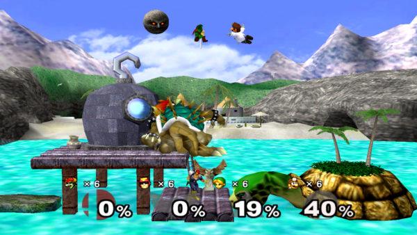 Super Smash Bros gamecube