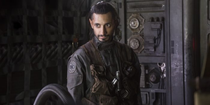Rogue One: A Star Wars Story Bodhi Rook (Riz Ahmed) Ph: Jonathan Olley �Lucasfilm LFL 2016.