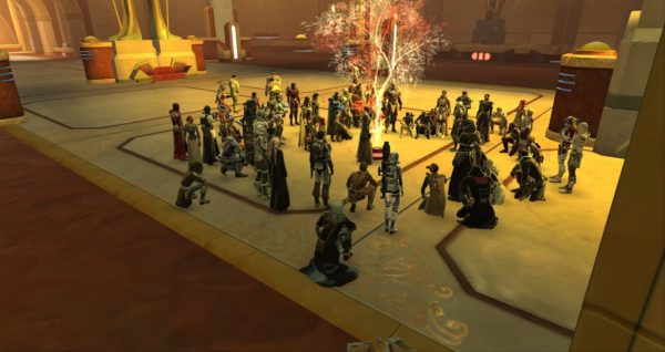 Star Wars: The Old Republic, Carrie Fisher