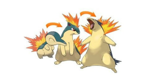 Cyndaquil Family (Fire)