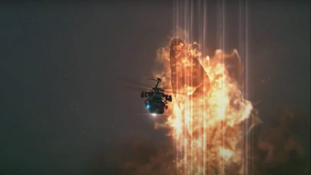 That Time a Flaming Whale Flies into the Air and Eats a Helicopter