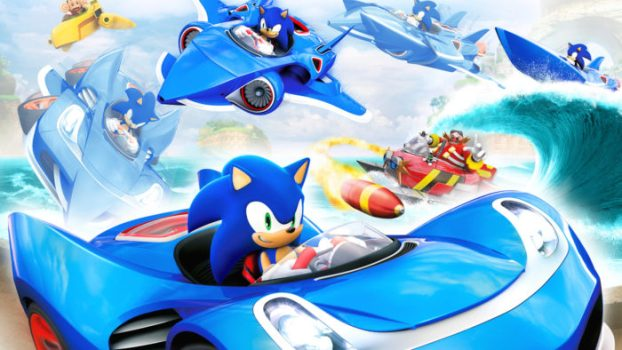 7) SONIC & ALL-STARS RACING TRANSFORMED - 82