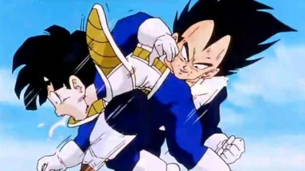 Gohan Was the First Life Fans Witnessed Vegeta Spare