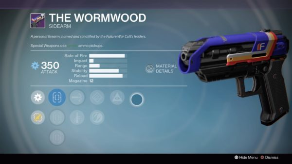The Wormwood, Destiny