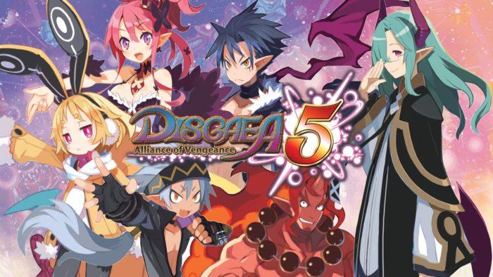 Disgaea 5 complete, switch, port