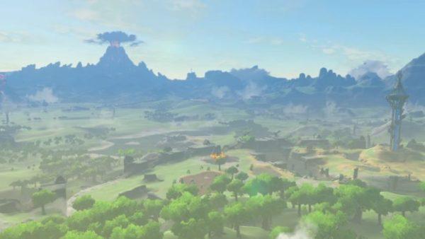 The Legend of Zelda Breath of the Wild Mt Doom