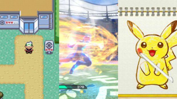 Pokemon Emerald, Pokken Tournament, and Art Academy - 76