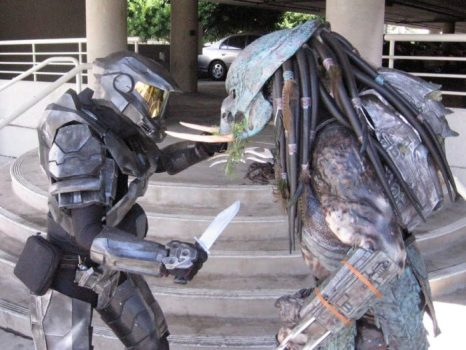Halo Vs. Predator