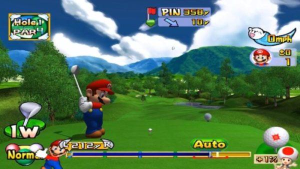 mario, mario golf