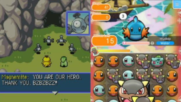 Pokemon Mystery Dungeon: Blue Rescue Team and Shuffle Mobile - 62