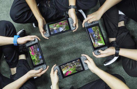 Nintendo Switch, splatoon 2, splatoon