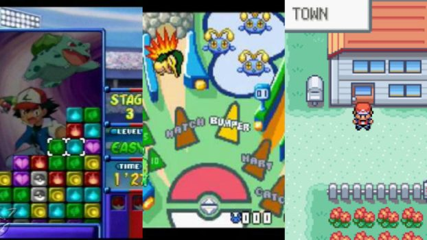 Pokemon FireRed/ LeafGreen, Puzzle League, and Pinball: Ruby & Sapphire - 81
