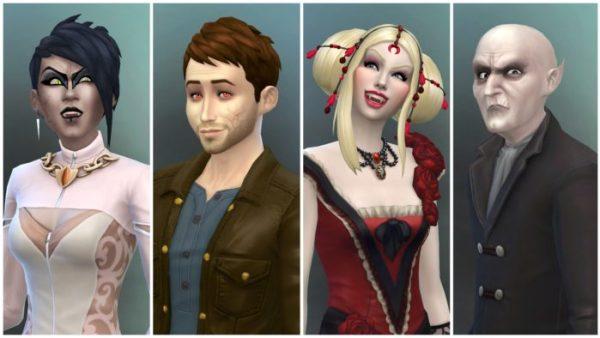 sims 4 vampire pack