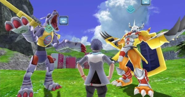 New digimon game