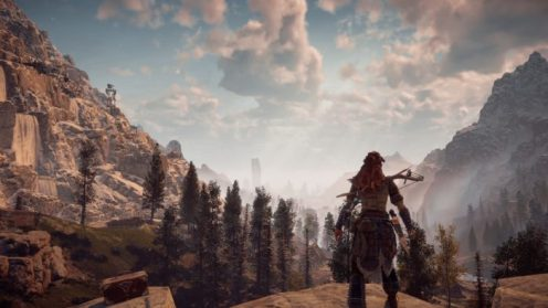 Horizon Zero Dawn, ps4 pro