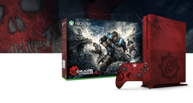 Gears of War 4 Limited Edition Console