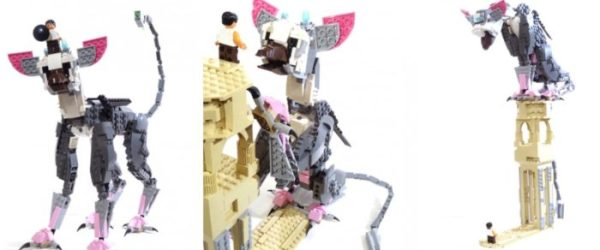 The last guardian, LEGO, trico, supporters