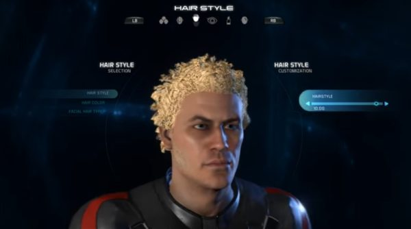 Mass Effect Andromeda Male Hairstyle 10