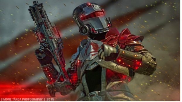 Commander Shepard (Blood Dragon Armor)