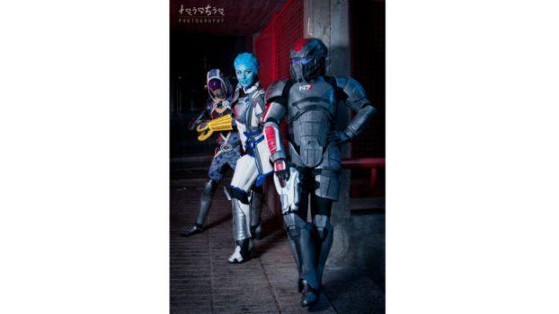 Liara T'Soni, Commander Shepard and Tali'Zorah