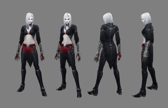 Female Necromancer