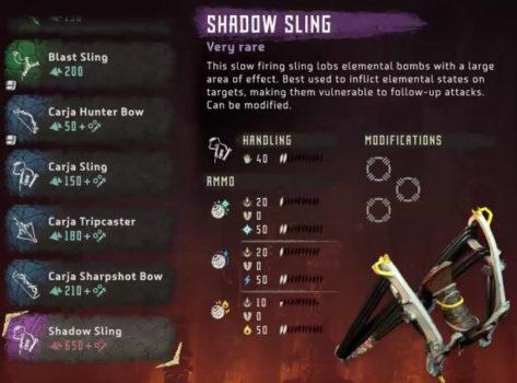 Weapons-List-Horizon-Zero-Dawn