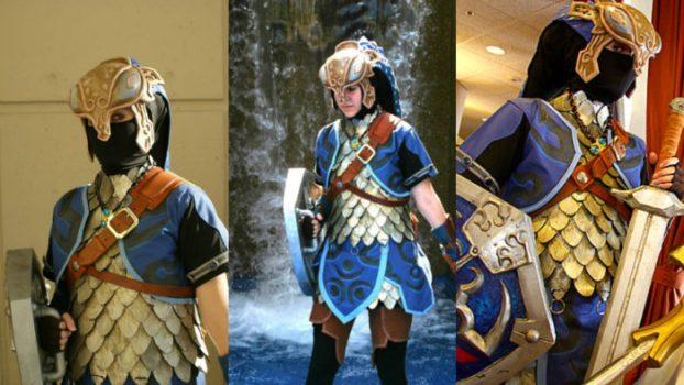 Zora Armor Link - Twilight Princess
